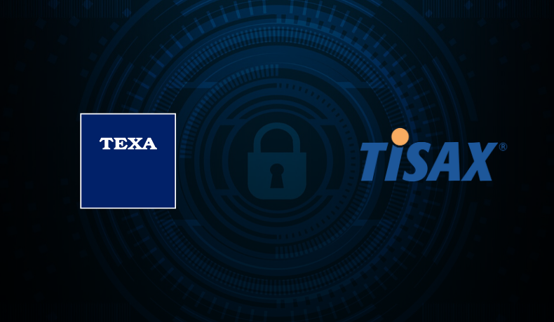 TEXA OBTAINS THE TISAX CERTIFICATION