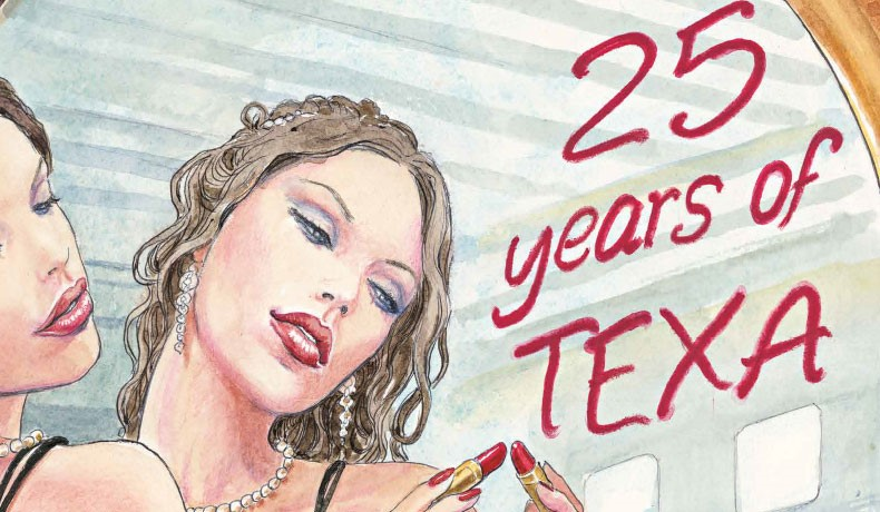 THE 2017 CALENDAR IS DEDICATED TO THE 25 YEARS OF TEXA