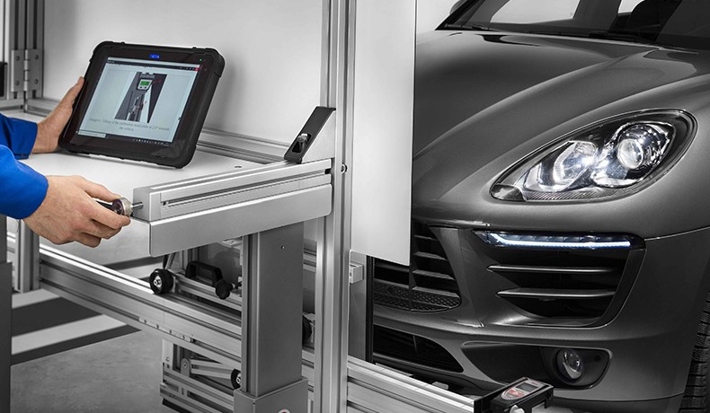 "TEXA'S ADAS CALIBRATION SYSTEMS ARE ""EQUIPMENT RECOGNISED AND QUALIFIED BY TÜV RHEINLAND"""